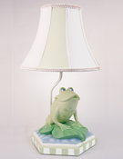 Frog Bedding and Decor