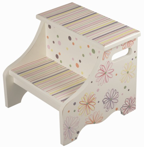 Fun Daisy Kids Step Stool