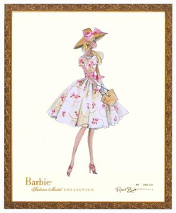 Garden Party Limited Edition Barbie Print