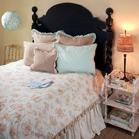 Gypsy Floral Girls Coverlet by New Arrivals Inc.