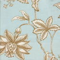 Gypsy Floral in Mocha Fabric by the Yard by New Arrivals Inc