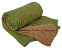 Habitat Rust/Sage Silk Jaquard Reversible Throw 60x60