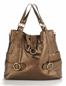 Hannah Bronze Diaper Bag - this item is no longer available