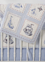 High Seas Baby Crib Quilt