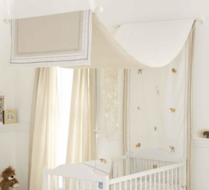 Itsazoo Crib Canopy by Whistle and Wink