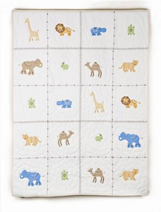 Itsazoo Crib Quilt by Whistle and Wink