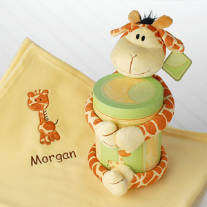"""Jo Jo Giraffe"" Two Piece Plush Gift Set in Keepsake Box  - no longer available"