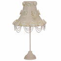 Jubilee Collection Ivory Rose Swag Lamp