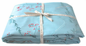Koko Willow Embroidered Twin Duvet Cover