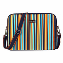 Laptop Case in Arabesque Stripes