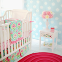 Layla Rose Crib Bedding Set by New Arrivals Inc