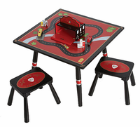 Levels of Discovery Firefighter Table & 2 Stools