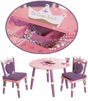 Levels of Discovery Princess Children's Table and Chair Set