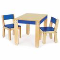 Little One's Table and Chairs - Cobalt