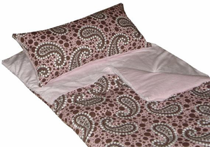 Lolazzz Pink Paisley Children's Sleeping Bag