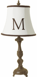 Madison Lamp - Classic Monogrammed Children's Lamp