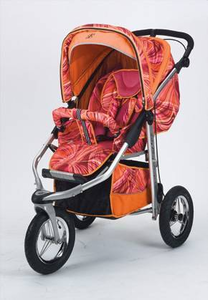 Metamorphosis Painted Lady Pink Jog Stroller