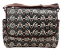 Mod Floral Messenger Diaper Bag by OiOi