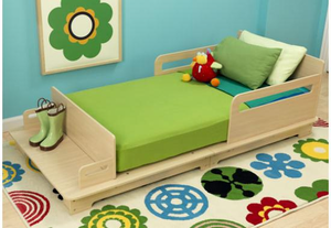 Modern Kids Toddler Bed - on backorder until July