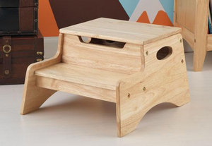 Natural Kids Step 'N Store Stool