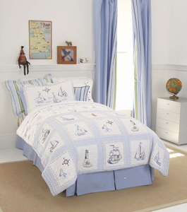 Nautical Bedding & Decor