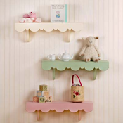New Arrivals White Cottage Shelf