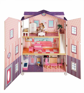 New York Mansion Doll House by Teamson Designs