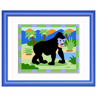 Olive Kids Gorilla Framed Art