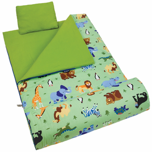 Olive Kids Wild Animals Kids Sleeping Bag
