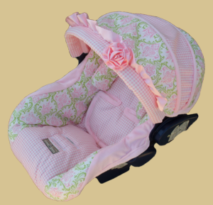 Olivia Marie Infant Car Seat Cover