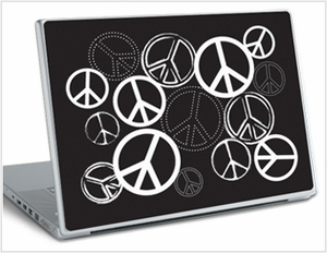 Peace Signs Laptop Skins