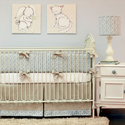 Peaceful 2 Piece Crib Bedding Set by Doodlefish Kids