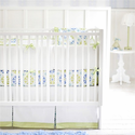 Pedal Pusher in Blue Baby Bedding