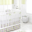 Pedal Pusher in Lavender Baby Bedding