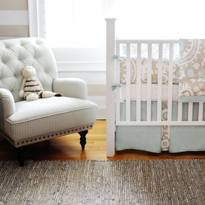 Picket Fences Baby Crib Bedding Set