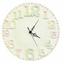 Pink Cut Out Clock