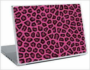 Pink Fur Laptop Skin