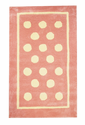 Pink Polka Dot Kids Rugs by New Arrivals