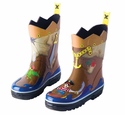 Pirate Boys Rain Boots