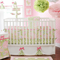Pixie Baby in Pink Crib Bedding Set