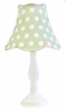 Pixie Baby in Pink Lamp