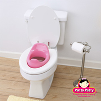 Potty Patty Potty Seat II - Pink Potty Seat