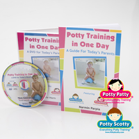 Potty Training in One Day� - Book & DVD Set