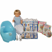 Potty Training in One Day� - The Advanced System for Boys w/DVD