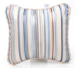 Preston Striped Pillow by Glenna Jean