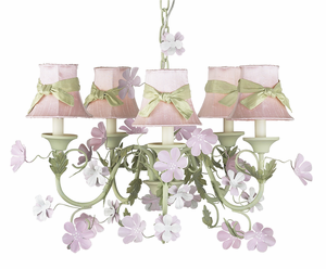Princess Camille 5 Arm Chandelier