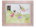 Princess Fairies Picnic Artwork