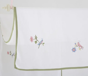 Princess Floral Embroidered Canopy