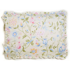 Princess Floral Print Standard Pillow Sham