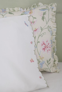 Princess Floral Standard Printed Pillow Sham